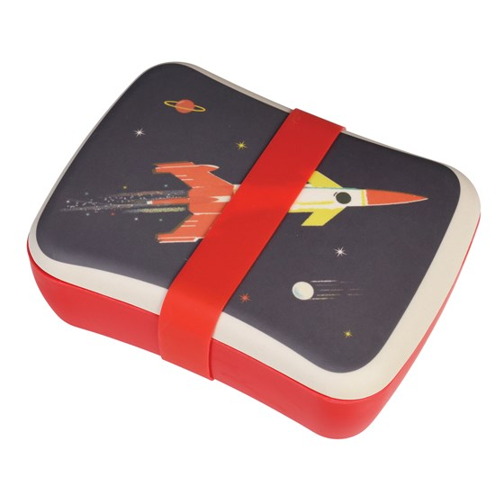 SPACE AGE KIDS BAMBOO LUNCH BOX