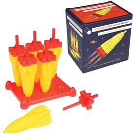 space age rocket ice lolly moulds