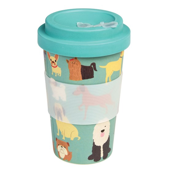 BEST IN SHOW BAMBOO TRAVEL MUG AND LID