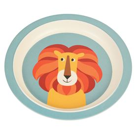 assiette en bambou charlie the lion