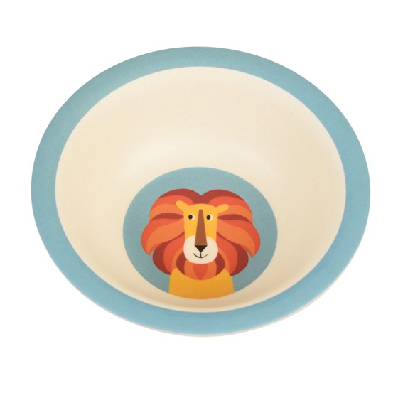 CHARLIE THE LION BAMBOO BOWL