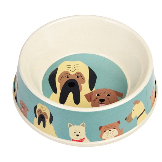 BEST IN SHOW BAMBOO DOG FOOD BOWL