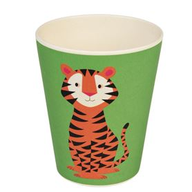 trinkbecher aus bambus teddy the tiger