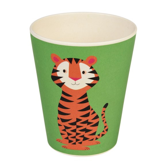 TEDDY THE TIGER BAMBOO BEAKER