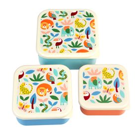 wild wonders snack boxes (set of 3)