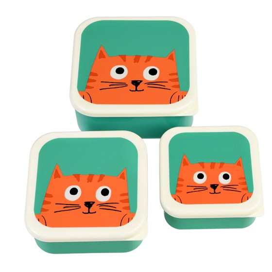 CHESTER CAT SNACK BOXES (SET OF 3)