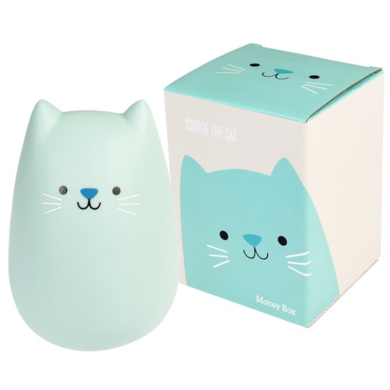 COOKIE THE CAT MONEY BOX