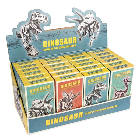 ASSORTED DINOSAUR SKELETON KIT