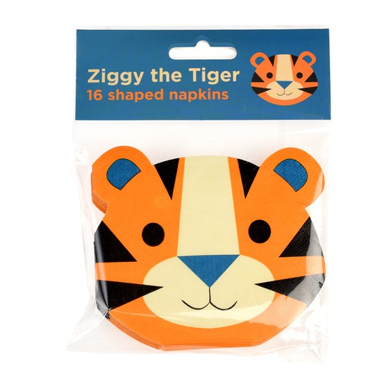 ZIGGY THE TIGER NAPKINS (PACK OF 16)