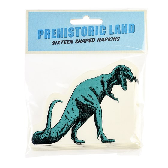 PREHISTORIC LAND NAPKINS (PACK OF 16)