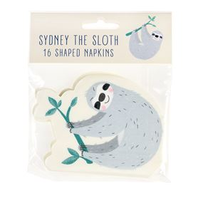 servietten sydney the sloth (16er packung)