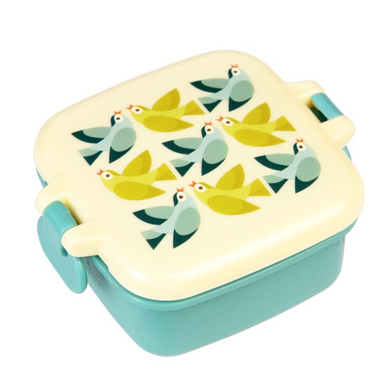 LOVE BIRDS SNACK POT