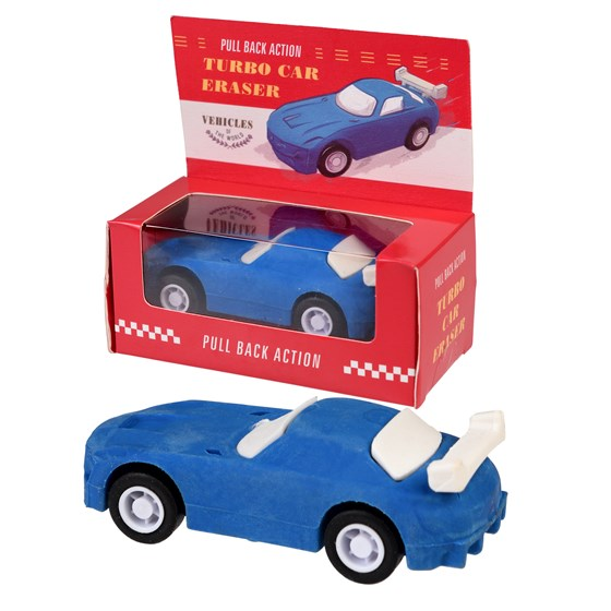 gomme bleue turbo car