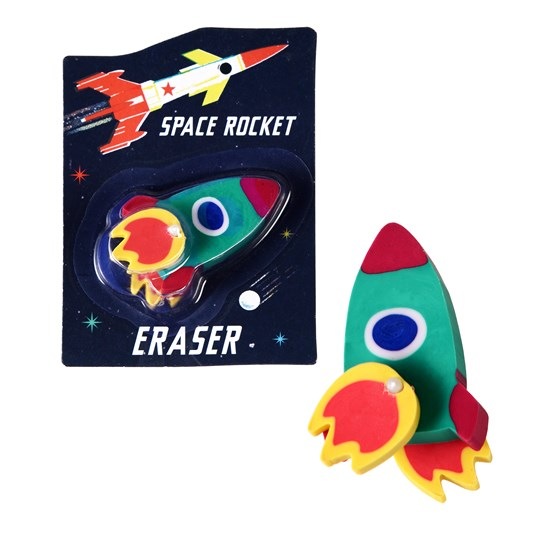 SPACE ROCKET ERASER