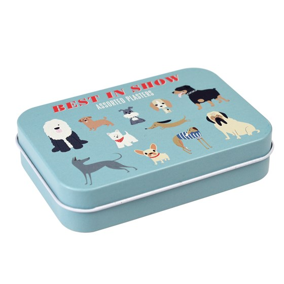 BEST IN SHOW PLASTERS IN A TIN (PACK OF 30)