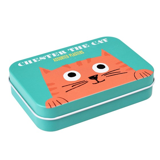 CHESTER THE CAT PLASTERS IN A TIN (PACK OF 30)