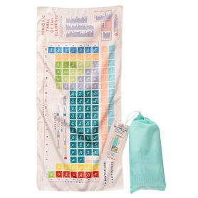 serviette en microfibre periodic table