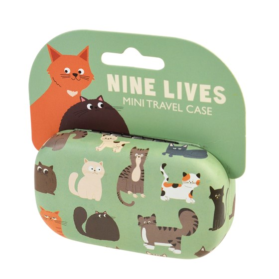 NINE LIVES MINI TRAVEL CASE