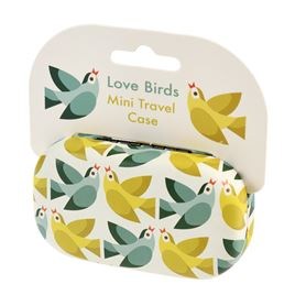 mini etui de voyage love birds