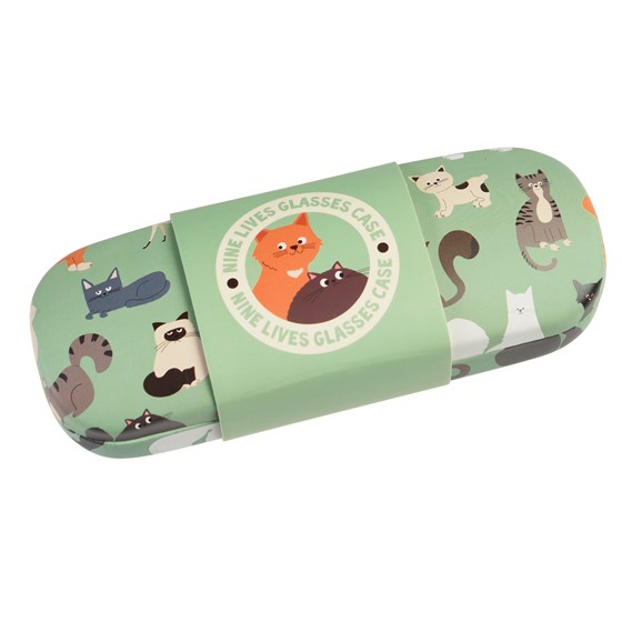 NINE LIVES GLASSES CASE & CLEANING CLOTH