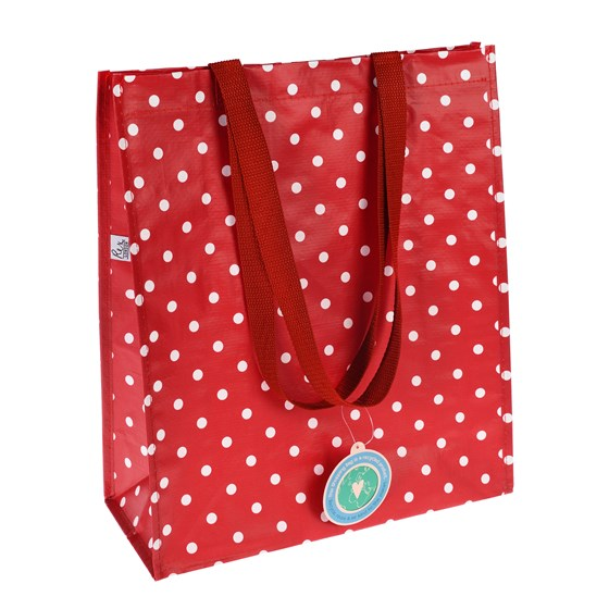 RETROSPOT RED SHOPPING BAG
