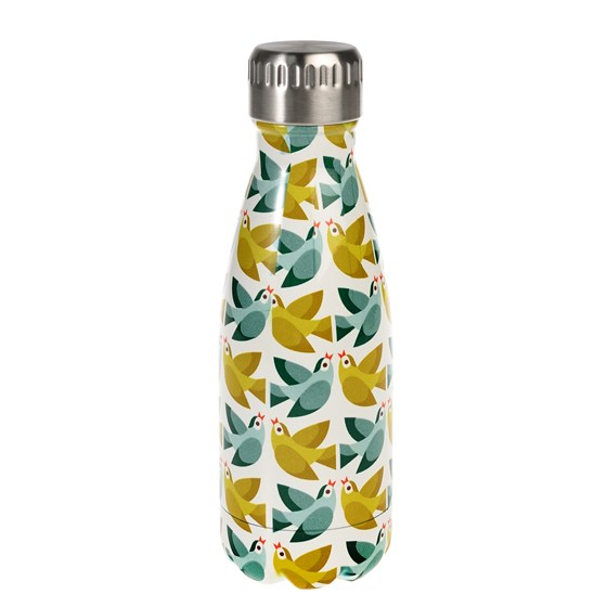 LOVE BIRDS 260ML STAINLESS STEEL BOTTLE