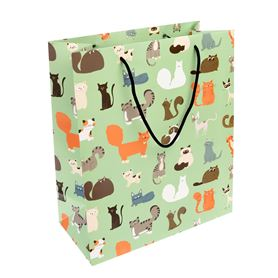 large nine lives gift bag