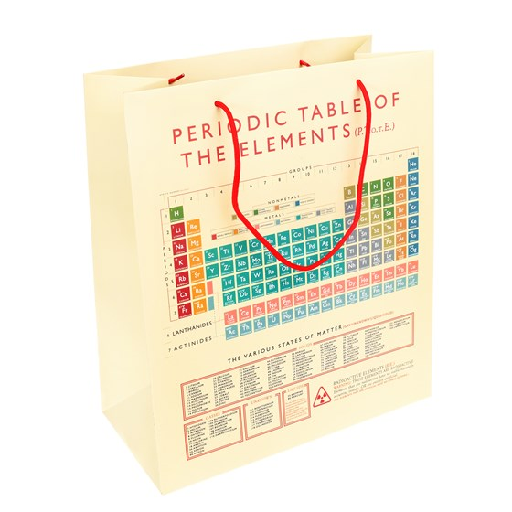 LARGE PERIODIC TABLE GIFT BAG