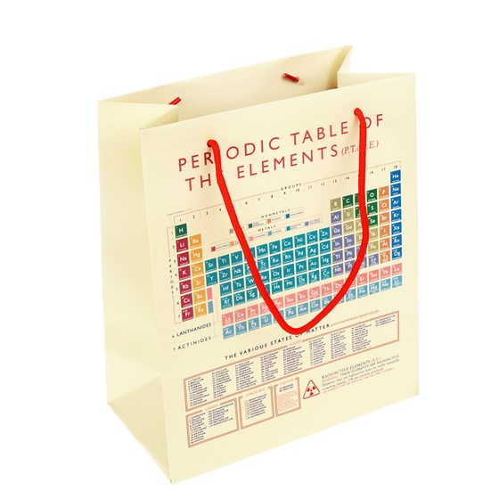 SMALL PERIODIC TABLE GIFT BAG