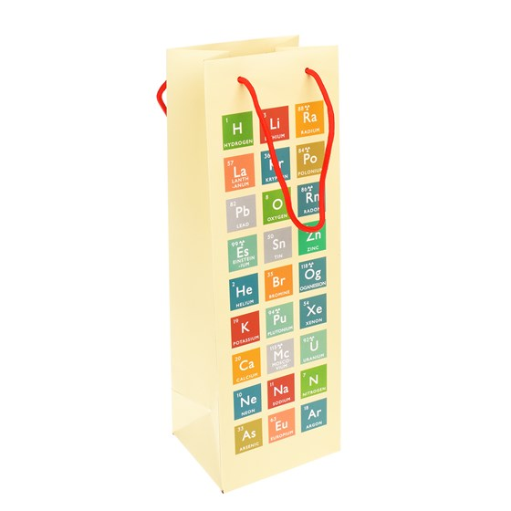 PERIODIC TABLE BOTTLE GIFT BAG