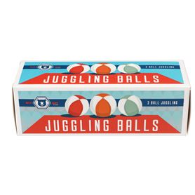 set of 3 mini juggling balls