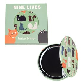 miroir de poche nine lives