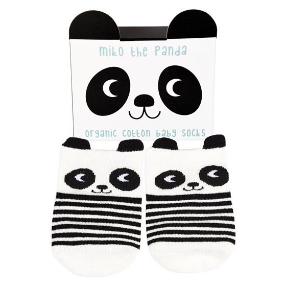 MIKO THE PANDA SOCKS (ONE PAIR)