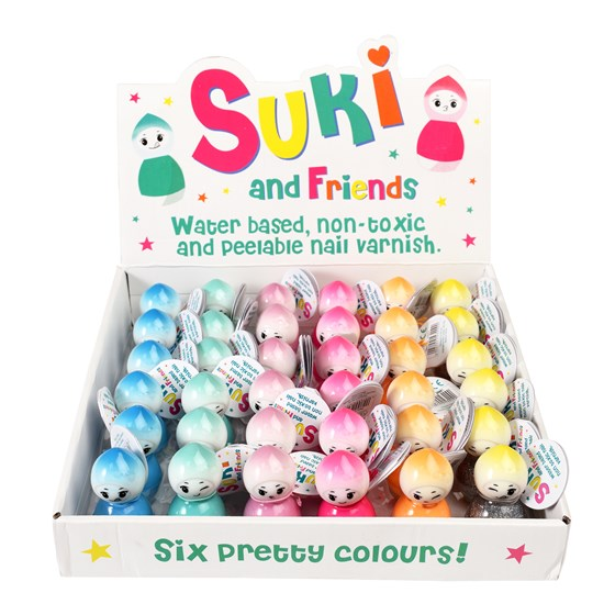 SUKI AND FRIENDS WATER BASED NAIL VARNISH