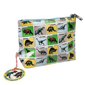 prehistoric land washbag