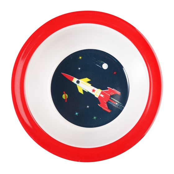 SPACE AGE MELAMINE BOWL