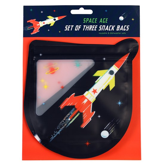 SPACE AGE SNACK BAGS (SET OF 3)