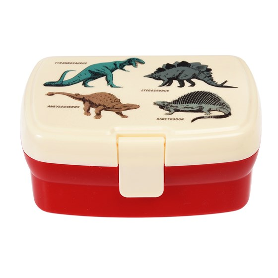 PREHISTORIC LAND LUNCH BOX WITH TRAY