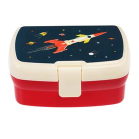 space age lunch box with tray