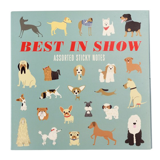 BEST IN SHOW STICKY NOTES