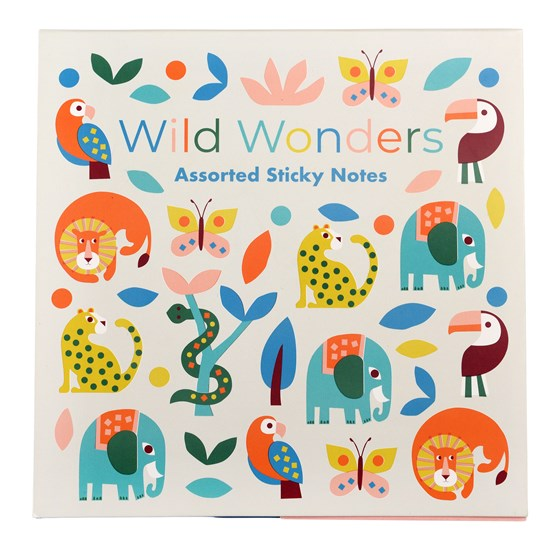 WILD WONDERS STICKY NOTES