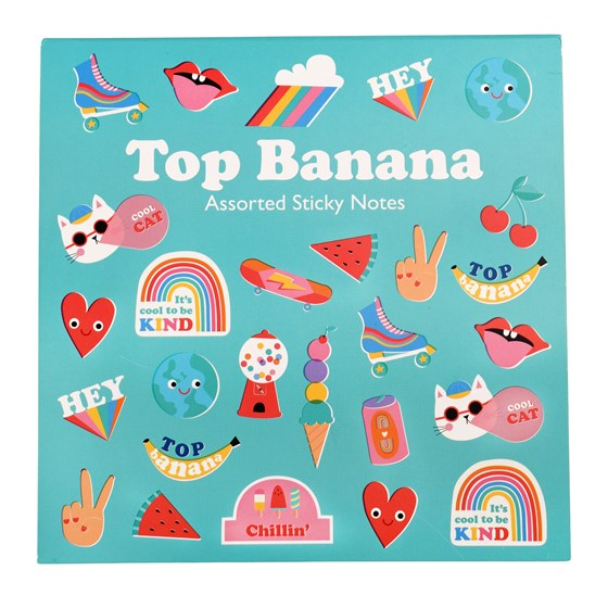 TOP BANANA STICKY NOTES