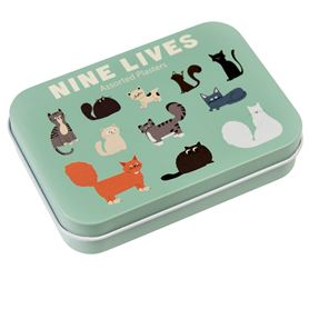 nine lives plasters in a tin (pack of 30)