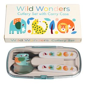 wild wonders cutlery set