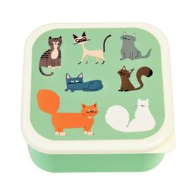 nine lives snack boxes (set of 3)