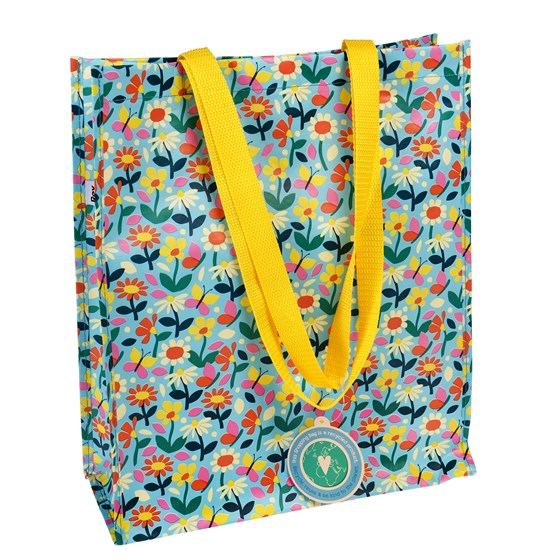 BUTTERFLY GARDEN SHOPPING BAG