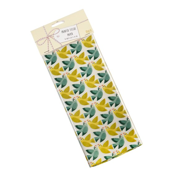 LOVE BIRDS TISSUE PAPER (10 SHEETS)