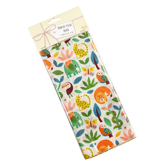 WILD WONDERS TISSUE PAPER (10 SHEETS)